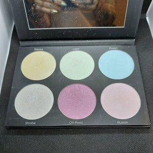 BH Cosmetics Black-light Highlighter Palette